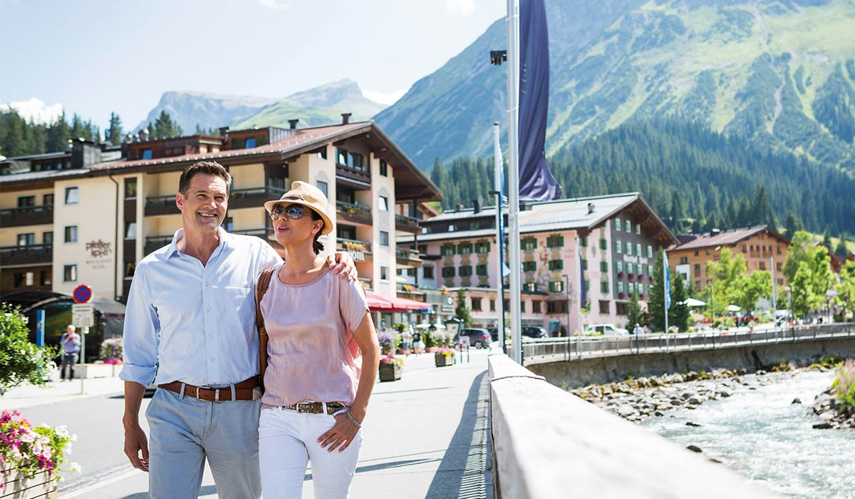 Short vacation at the Arlberg