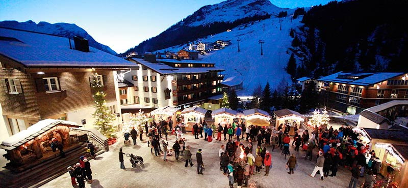 Advent and Christmas time in Lech am Arlberg
