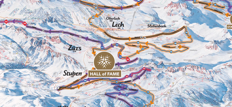 Run Of Fame - Auf den Spuren der Skistars