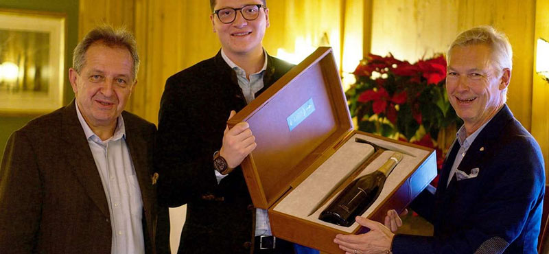 BURG HOTEL Gewinner Falstaff »Best Bottle Award« 2019